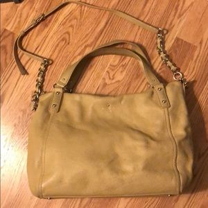 Kate Spade cross body or top handle carry all.